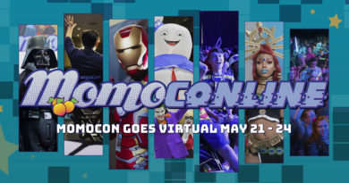 Basil and friends have panels! MomoConline 2020